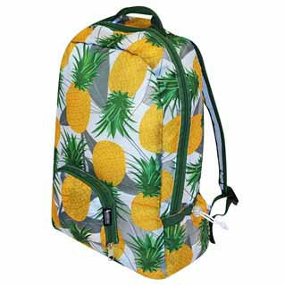 Foldable backpack with Pineapples
