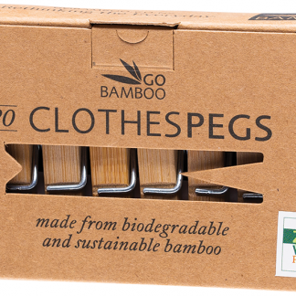 Go Bamboo Clothes pegs
